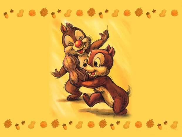 Как к Чипу и Дейлу пришла популярность Чипа и Дейл, гаечка, мультфильм