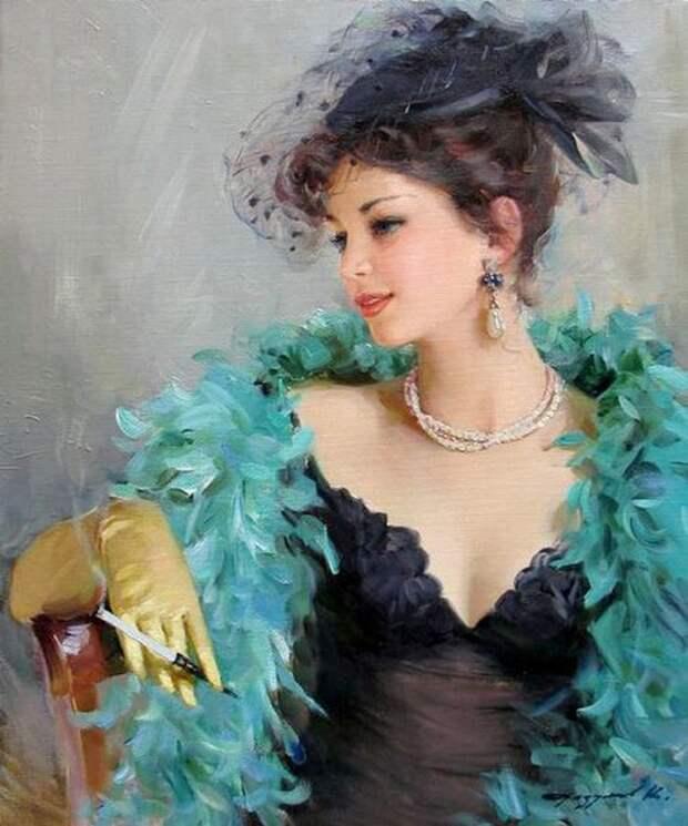 """Элегантные Женские портреты  из серии """"Я женщина!"""""""