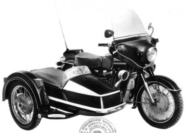 Мото кортеж в СССР. Правительственная охрана на мото СССР