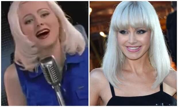 Певица Натали в 90-е и сейчас