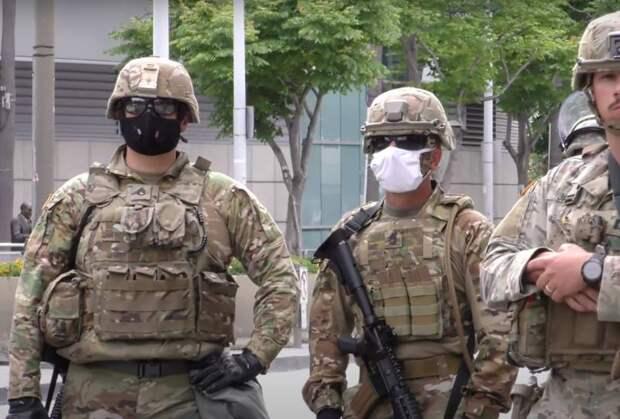 В США армию выводят из городов, ставка Трампа на военных провалилась