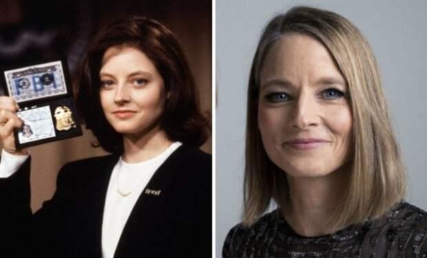 Джоди Фостер, 55 лет 90-е, звезды, знаменитости 90-х, секс-символы, тогда и сейчас