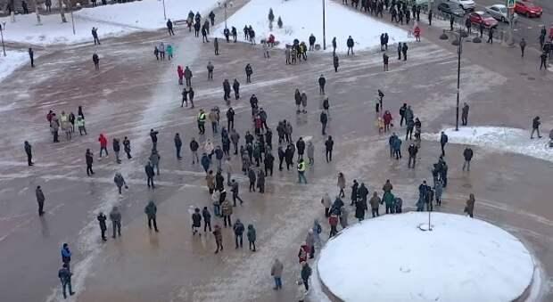 Полицейские попросили рязанцев воздержаться от участия в несогласованных акциях