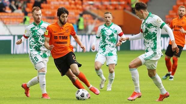 «Урал» на своем поле сыграл вничью с «Ахматом» в 27-м туре РПЛ