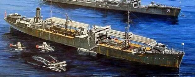 Авианосец «Ноторо» combinedfleet.com - Шанхай-1932: проба сил перед большой войной   Военно-исторический портал Warspot.ru