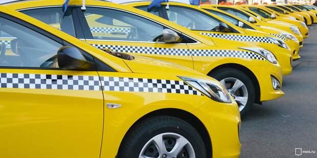 В июле в Марфине пользовались услугами такси более 39 тысяч раз