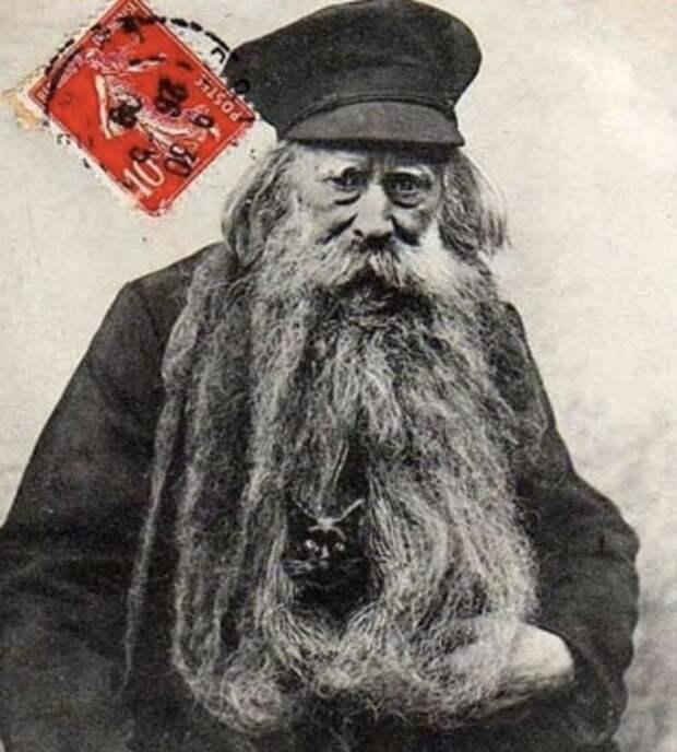 Луи Кулон — дед, у которого в бороде жили кошки