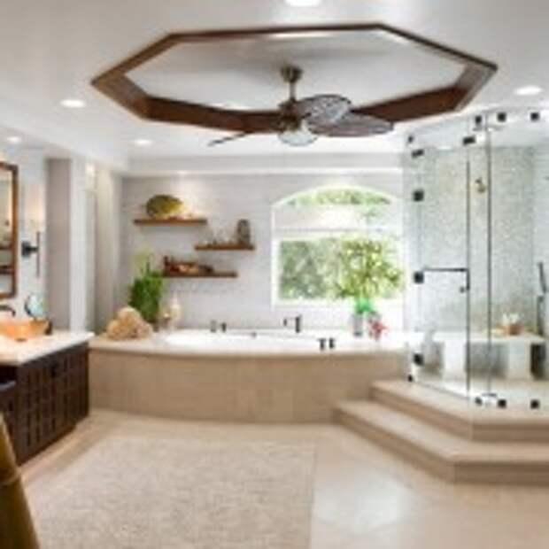 Шикарная ванная в восточном стиле