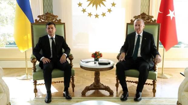 Зеленский испугался обсуждать Святую Софию с Эрдоганом
