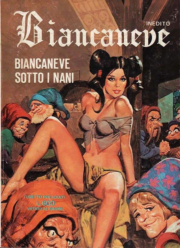 Мистика и девушки: 100 странных эротических ретро-комиксов из Италии
