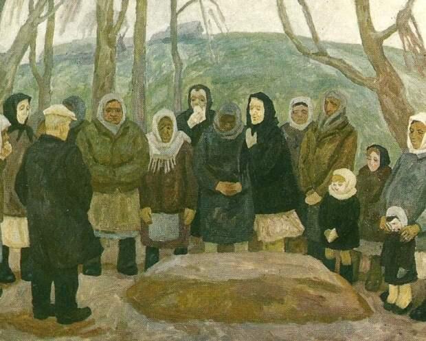 Нечистая сила приходила к безутешным вдовам. /Фото: readweb.org