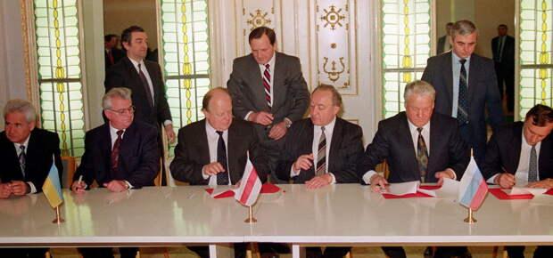 Отмена Беловежских соглашений уже ни на что не повлияет