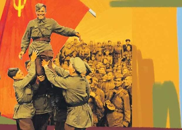 Жители Северного помогут выбрать эскиз для панно Победы на проспекте Мира Фото: фрагмент эскизов Александра Дёмкина/ЗБ