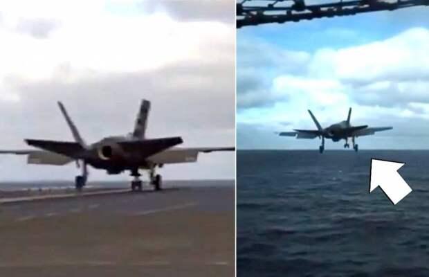 ВВС США чуть не потеряли очередной F-35 во время опасного эксперимента