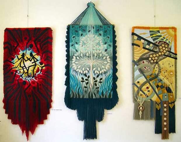 Потрясающие объёмные гобелены Юрия Овсепяна
