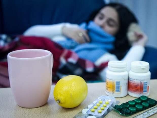 Вирус гриппа оказался опаснее коронавируса COVID-19