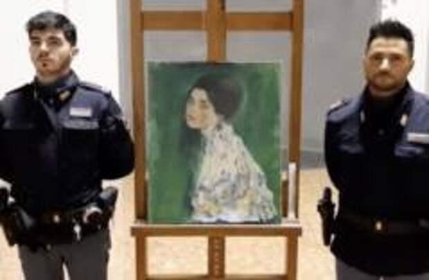 Картину Климта нашли в Италии