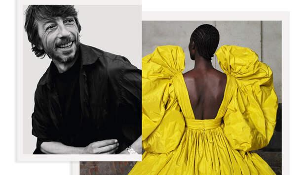 """Пьерпаоло Пиччоли: """"Одежда придумывается не для вечности, а для того, чтобы ее носили здесь и сейчас"""""""