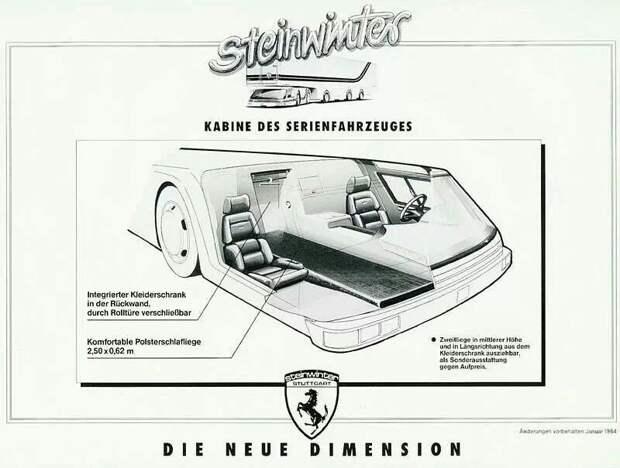 Steinwinter Supercargo 20.40: вероятно, самый странный грузовик из когда-либо созданных Steinwinter, Steinwinter Supercargo, авто, автомобили, грузовик, концепт, тягач, фура