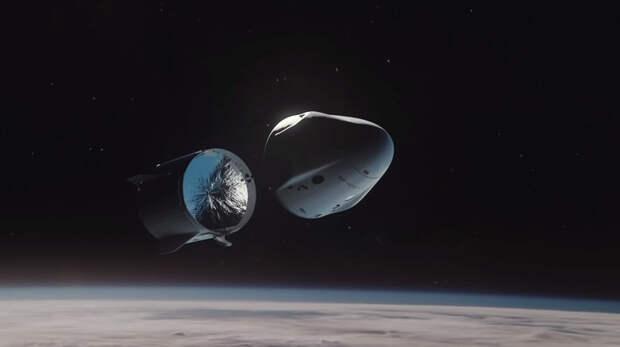 Первый полет Crew Dragon сэкипажем