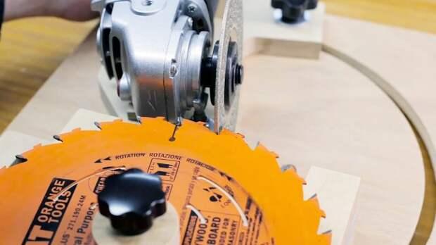 Несложное приспособление для точной заточки циркулярных дисков и фрез