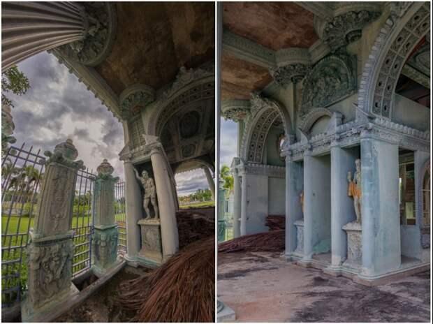 Таинственный особняк, заброшенный в одном из приморских городов Таиланда (Dolphin Bay Mansion).