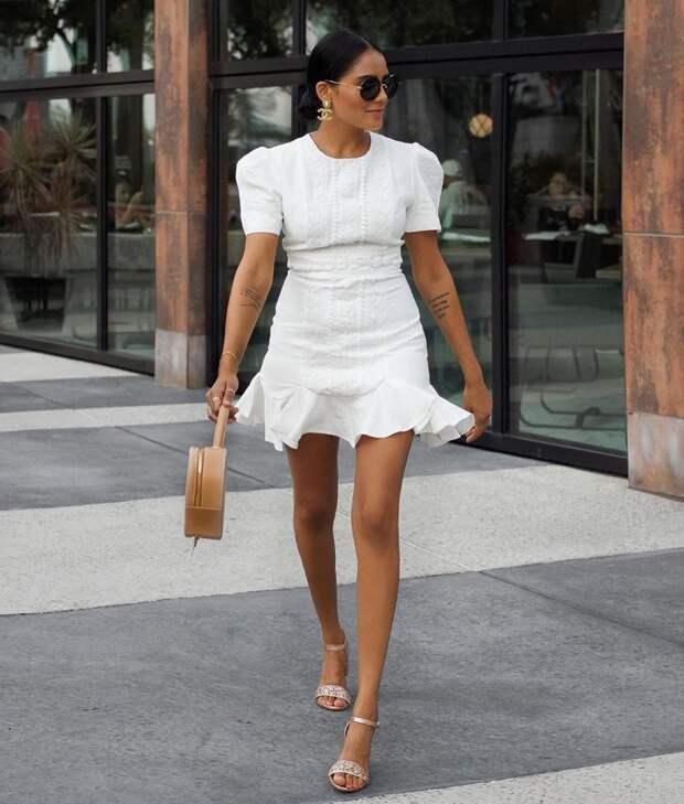 Платье с коротким рукавом: 15 моделей, которые сделают тебя сногсшибательной красоткой