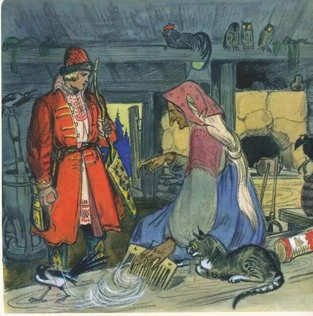 Иллюстрация Т. Мавриной
