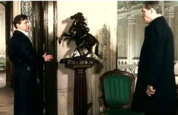 """Кадр из фильма """"Семнадцать мгновений весны"""". Киностудия имени Горького, 1973."""