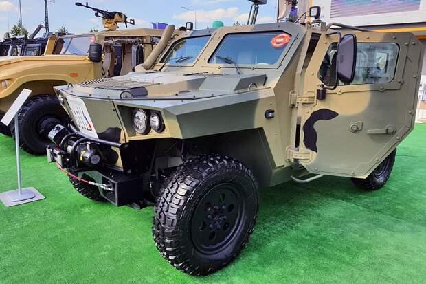 Чем уникальная российская бронеамфибия «Стрела», представленная на форуме «Армия-2020»