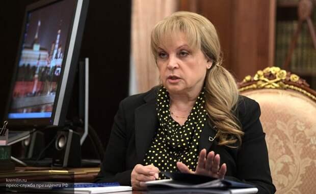 Памфилова отметила заинтересованность граждан при проведении электронного голосования