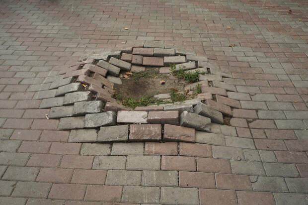 Барнаул асфальт, благоустройство, и так сойдет, и так сойдёт, тротуар