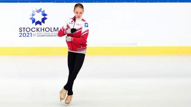 Филигранное катание: Александра Трусова на тренировке показала все 4 прыжка