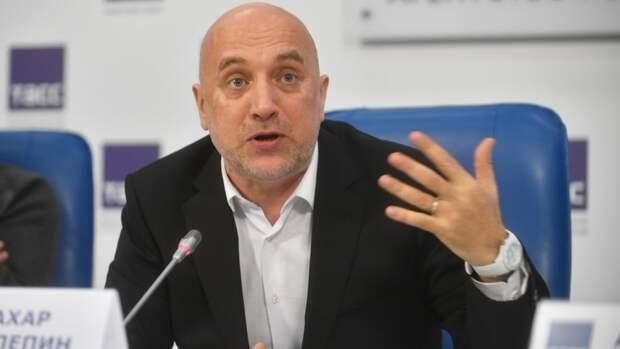 Прилепин напомнил Ярмыш про людоедов в ответ на жалобу о «цензуре» на книжной ярмарке