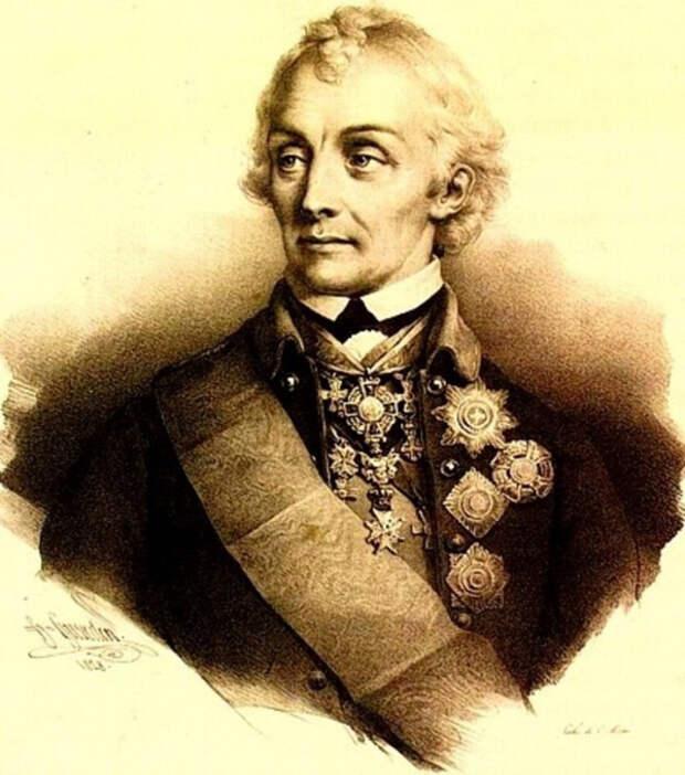 Александр Суворов в Крыму