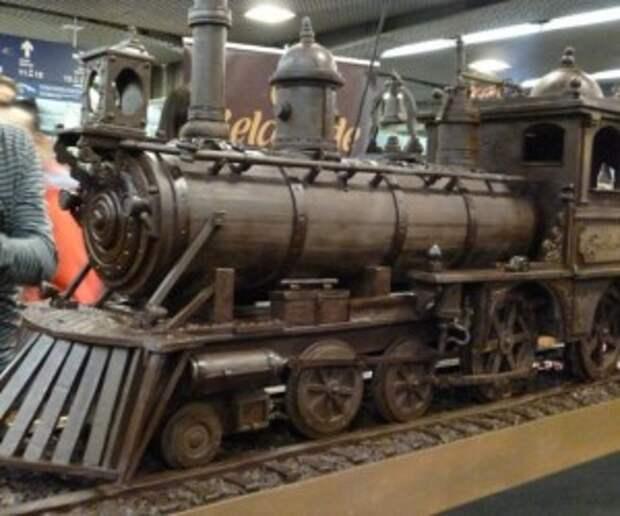 Поезда из шоколада