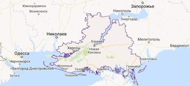 Для украинцев с 24 августа Херсонщина — это Крым!