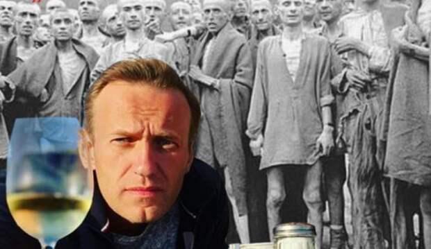 Меркель вляпалась по уши: Немецкие соцсети напомнили, как Навальный поднял «первый тост за Холокост»