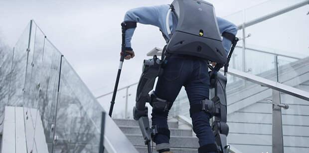 Китайские пограничники получили экспериментальные экзоскелеты