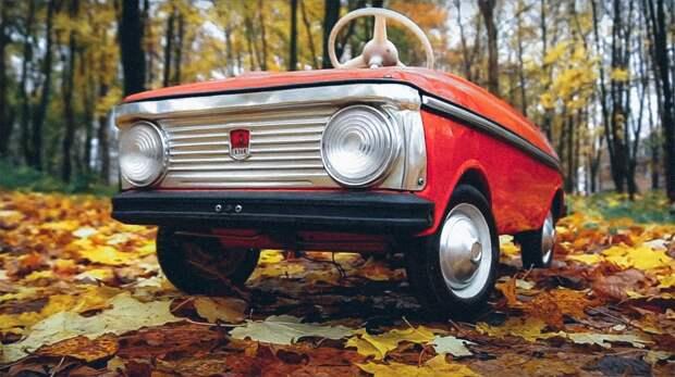 Машинки, о которых мечтали все советские дети