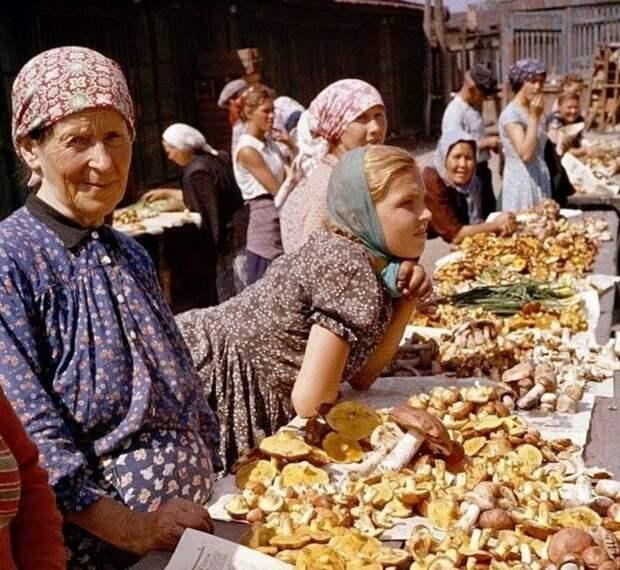 Как это было: продовольственные рынки в Советском Союзе