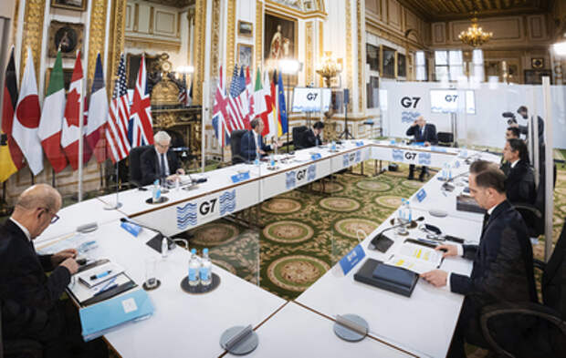 Главы МИД стран G7 обсудили Россию