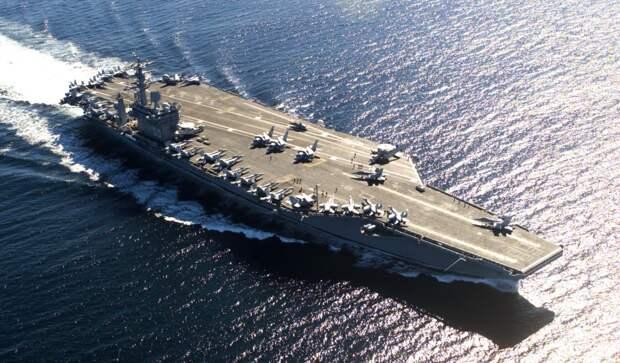 Пентагон объявил о выводе авианосца Nimitz с Ближнего Востока