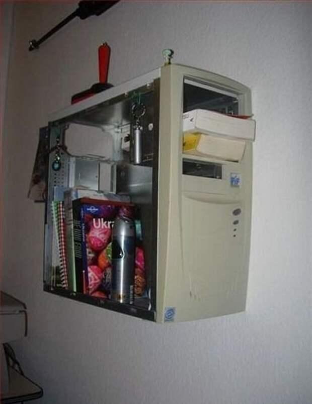 5. компьютер, новая жизнь старых вещей, процессор, своими руками, системный блок