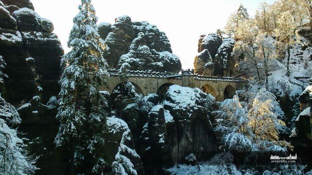 Бастайский мост Саксонской Швейцарии