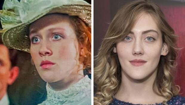 Советские актрисы и их дочери, запечатленные в одном и том же возрасте