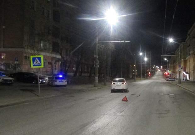 Жительницу Ижевска сбили на пешеходном переходе на улице Советской