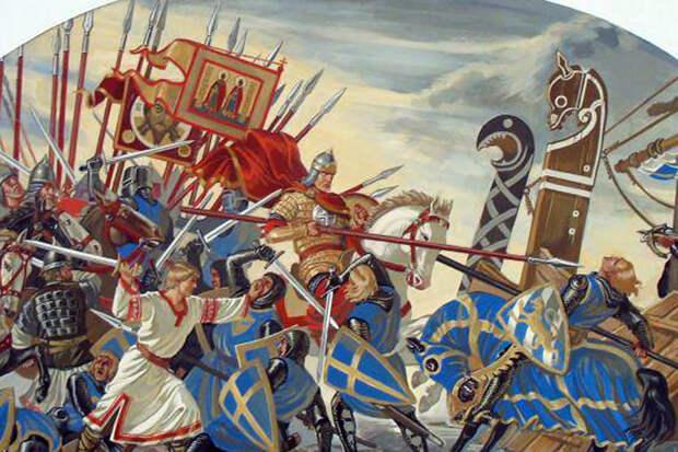 780 лет со дня Невской битвы