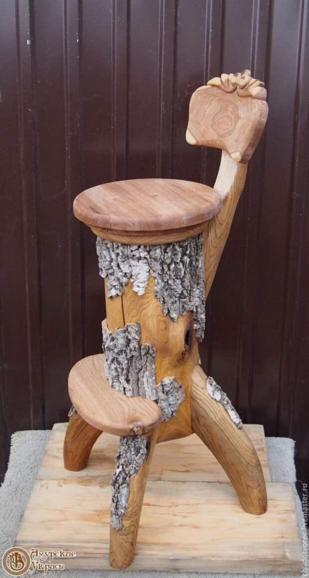 Стулья из массива дерева (подборка)
