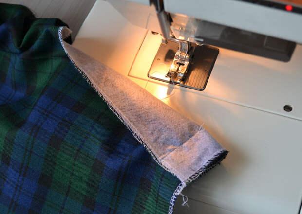 Как сшить юбку со шлицей
